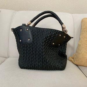 NWOT Big Budda Black bag